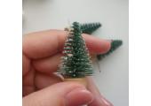 Елочка на подставке миниатюра 5 см