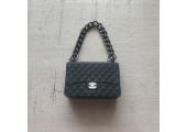 Сумочка на цепочке Chanel черная
