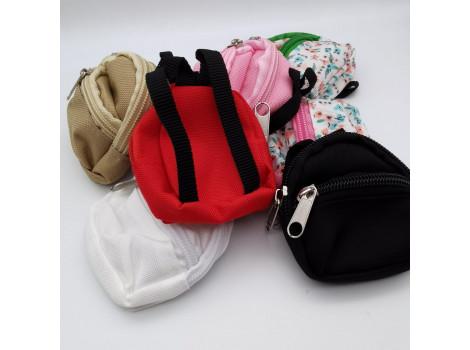 Рюкзак для кукол черный