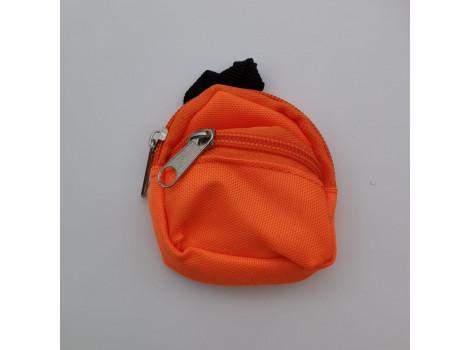 Рюкзак для кукол оранжевый