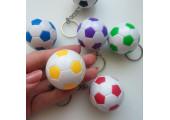 Мяч футбольный 3.5 см зеленый