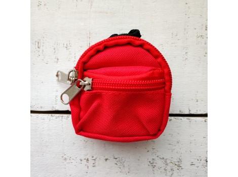 Рюкзак для кукол красный