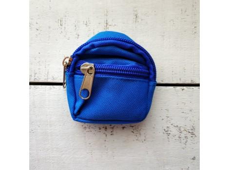 Рюкзак для кукол синий