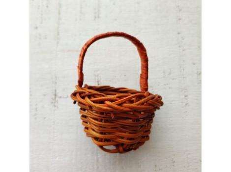 Корзиночка коричневая