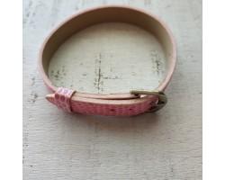 Ремешок питон розовый