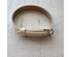Ремешок питон белый