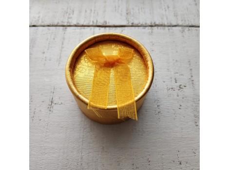 Коробочка для куклы золото