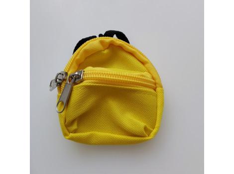 Рюкзак для кукол желтый