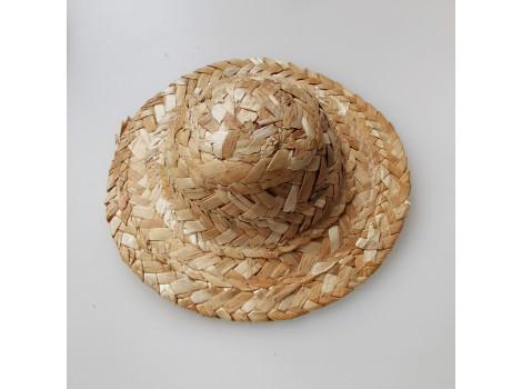Шляпка соломенная 12 см