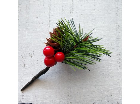 Букет новогодний с ягодками