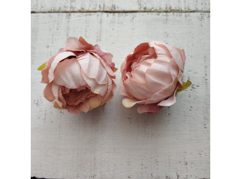 Пион средний 4.5 см персиково-розовый