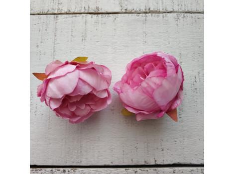 Пион средний 4.5 см яркий розовый