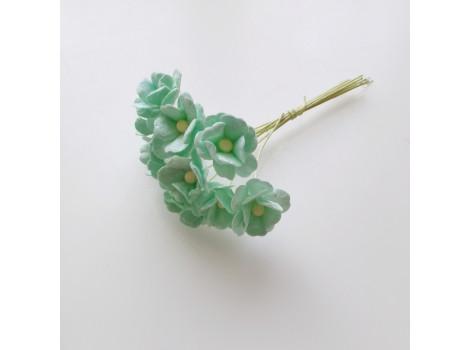 Цветочек вишни 1.5см мятный