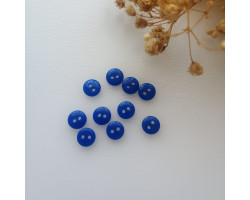 Пуговица 8 мм синяя