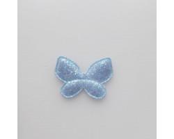 Патч бабочка голубой