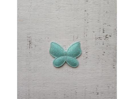 Патч бабочка мятный