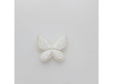 Патч бабочка молочный