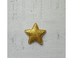Патч звездочка золотистая