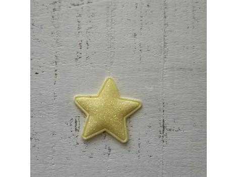 Патч звездочка желтая
