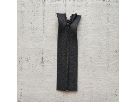 Молния вшивная 7 см черная