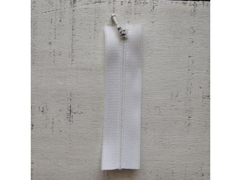 Молния вшивная 7 см белая