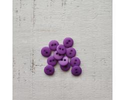 Пуговица 8 мм фиолетовая