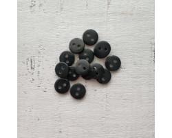 Пуговица 8 мм черная