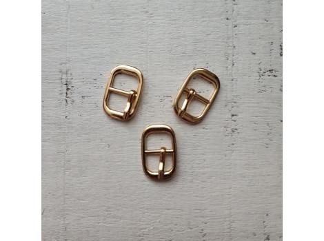 Пряжка прямоугольная 17*9 мм золото