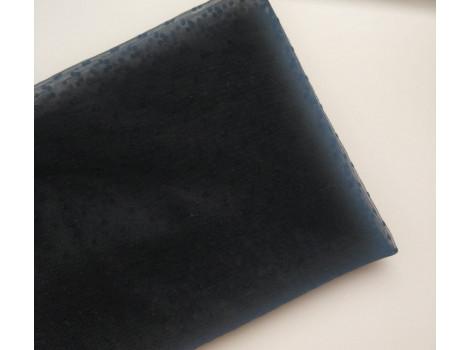 Фатин мелкие горошки черный
