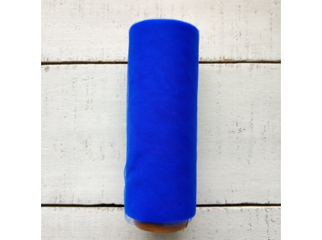 Фатин мягкий синий №18