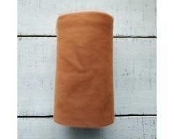Фатин мягкий коричневый №14