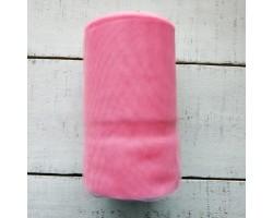 Фатин мягкий розовый №7