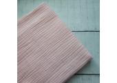 Хлопок муслин персиково-розовый