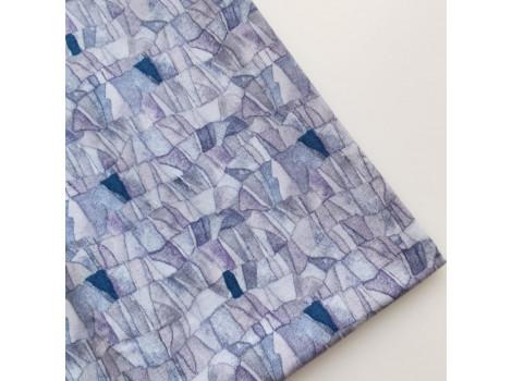 Хлопок серо-фиолетовые скалы