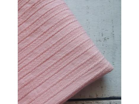 Хлопок шитье косички розово-персиковый