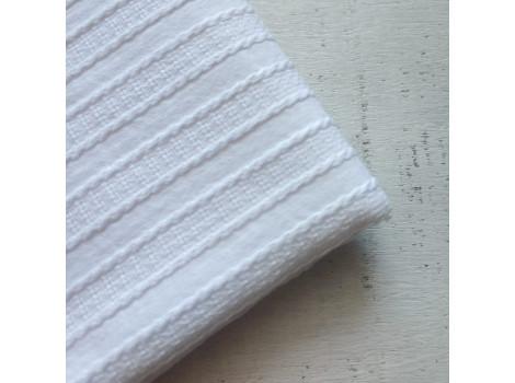 Хлопок шитье косички белый снежный