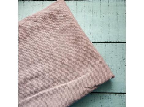 Микровельвет костюмный теплый розовый