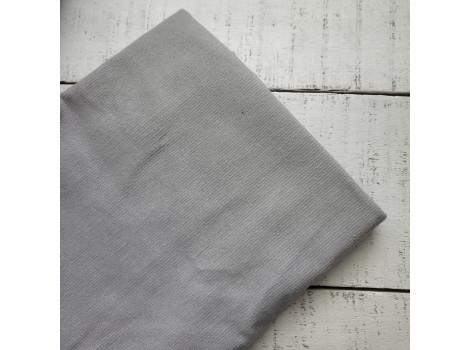 Микровельвет костюмный серый