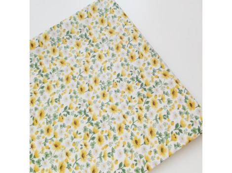 Хлопок с мелкими желтыми цветочками