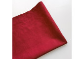 Микровельвет средней плотности красная сальса