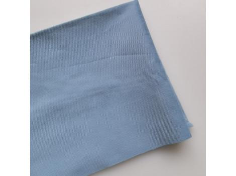 Микровельвет тонкий серо-голубой