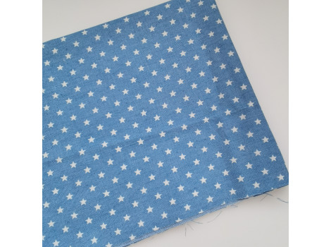 Джинса светло-синяя со звездочками