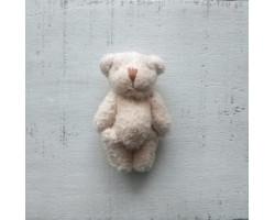 Игрушка плюшевый мишка малый кремовый