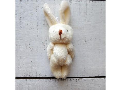 Игрушка плюшевый зайка большой белый