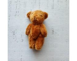 Игрушка плюшевый мишка малый 6 см коричневый