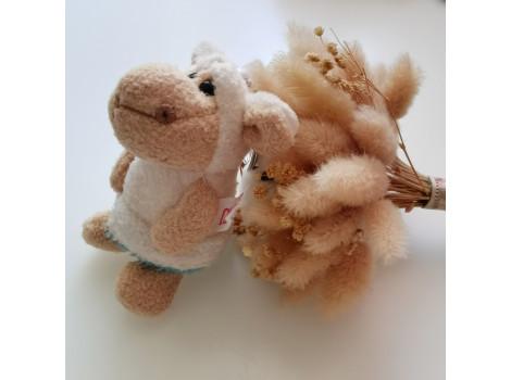 Игрушка Nici овечка в бирюзовом платье