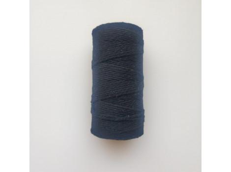 Шнур хлопковый 2 мм черный