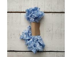 Шебби-лента небесно-голубая