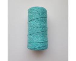 Шнур хлопковый 2 мм бирюзовый