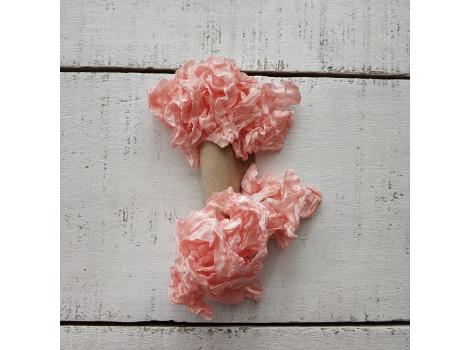 Шебби-лента утренняя роза